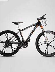 Недорогие -Горный велосипед Велоспорт 27 Скорость 26 дюймы / 700CC SHIMANO M370 Гидравлический дисковый тормоз Вилка Моноблок Обычные Алюминиевый сплав / #