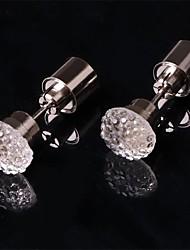 billige Originale lamper-2pcs Ørepynt øredobber Endring Knapp batteridrevet Enkel å bære / Dekorasjon Batteri / <5 V