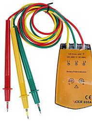 baratos -1 pcs Plásticos Testador de bateria / Testador de capacitância de resistência Medidores / Detecção de Circuito 200~600 VICTOR
