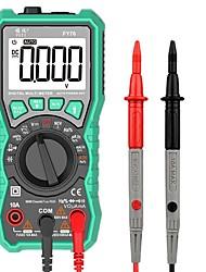 Недорогие -fy76 цифровой мультиметр автодиапазон мультиметр переменного тока dc истинный среднеквадратичный тестер ncv мультиметр
