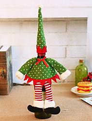 abordables -Sacs pour vin & Porte-vins Noël / Vacances Tissu Rectangulaire Soirée / Nouveautés Décoration de Noël