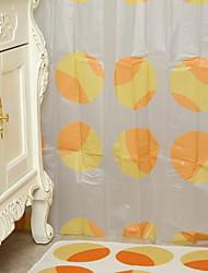 Недорогие -Шторка для ванной Современный ПВХ механически Водонепроницаемый / Новый дизайн Ванная комната