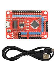 baratos -keyes open source lgt8f328p placa de controle compatível com placa de desenvolvimento arduino / vermelho / proteção ambiental