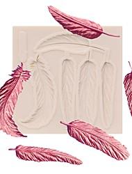 abordables -Outils de cuisson Gel de silicone Mignon / Nouvelle arrivee / Anniversaire Gâteau / Pour Ustensiles de cuisine / Pour Gâteau Rectangulaire Dessert Décorateurs 1pc