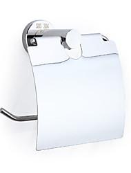 economico -Porta rotolo di carta igienica Nuovo design / Fantastico Modern Acciaio inox / ferro 1pc Portarotoli Montaggio su parete