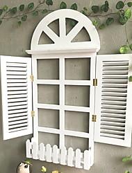 baratos -Férias Decoração de Parede De madeira Pastoril Arte de Parede, Prateleiras e bordas de parede Decoração