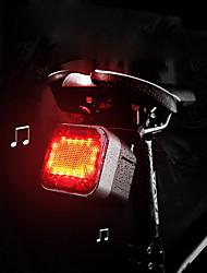 abordables -Lampe Arrière de Vélo / haut-parleurs sans fil Bluetooth LED Eclairage de Velo Cyclisme Imperméable, Créatif, Design nouveau 100 lm Rouge Camping / Randonnée / Spéléologie / Cyclisme