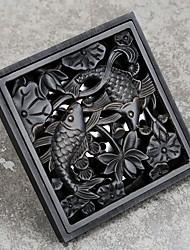 Недорогие -Слив Новый дизайн Античный Латунь 1шт истощать Установка на полу