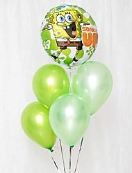 abordables -Lot de ballons Latex 6pcs Vacances / Thème asiatique / Thème classique / Thème de conte de fées