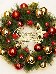 Недорогие -Гирлянды / Орнаменты Новогодняя тематика Ткань / пластик Оригинальные Рождественские украшения
