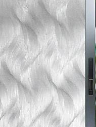 Недорогие -Оконная пленка и наклейки Украшение С цветами / Геометрия Геометрический принт стекло / ПВХ Стикер на окна / Матовая