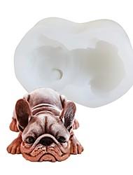Недорогие -Инструменты для выпечки Силикон Очаровательный Новое поступление 3D Торты Для торта Для мороженого Прямоугольный Формы для пирожных Десерт Декораторы 1шт