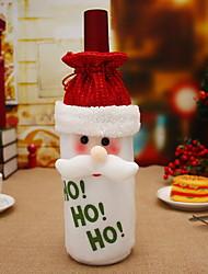 baratos -Sacos e Transportadores de Vinho Natal / Férias Não-Tecelado Rectângular Festa / Novidades Decoração de Natal