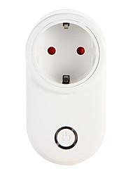 Недорогие -weto w-t03 eu wifi smart plug для интеллектуального домашнего пульта дистанционного управления работает с alexa google home timer socket для iOS android