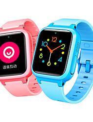 Недорогие -Детские часы S1 для Android 3G 2G GPS Хендс-фри звонки FM-радио Игры Фотоаппарат Таймер Педометр Напоминание о звонке Датчик для отслеживания активности