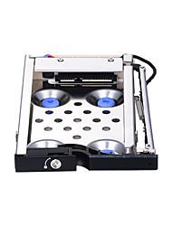 abordables -Unestech Boîtier de disque dur Indicateur LED / Prêt à l'emploi / Multi Fonction Aluminium Ultra Léger / Acier Inoxydable ST8214B