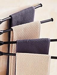 Недорогие -Держатель для полотенец Новый дизайн Современный Алюминий 1шт 4-полосная доска На стену