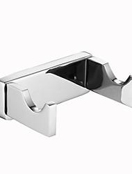 Недорогие -Крючок для халата Креатив / Многофункциональный Modern Нержавеющая сталь 1шт - Ванная комната / Гостиничная ванна На стену