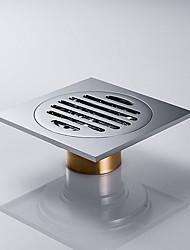 Недорогие -Слив Новый дизайн Современный Латунь 1шт Установка на полу