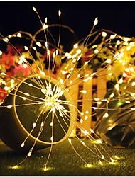 Недорогие -Праздничные украшения Новый год / Рождественский декор Праздничные огни Для вечеринок / Декоративная Желтый 1шт