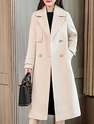 Недорогие -женская длинная шерсть - сплошной цвет