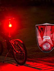 Недорогие -Светодиодная лампа Велосипедные фары Задняя подсветка на велосипед огни безопасности задние фонари Горные велосипеды Велоспорт Водонепроницаемый Портативные Осторожно! / АБС-пластик
