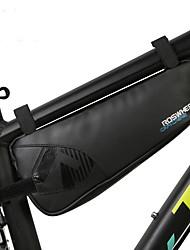 baratos -1.1 L Bolsa para Quadro de Bicicleta Prova-de-Água, Portátil, Vestível Bolsa de Bicicleta Náilon Bolsa de Bicicleta Bolsa de Ciclismo Exercicio Exterior / Moto