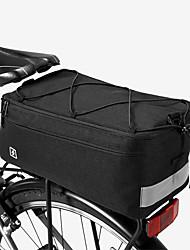 baratos -ROSWHEEL 8 L Mala para Bagageiro de Bicicleta / Alforje para Bicicleta Prova-de-Água, Á Prova-de-Chuva, Vestível Bolsa de Bicicleta Ripstop 600D Bolsa de Bicicleta Bolsa de Ciclismo Ciclismo