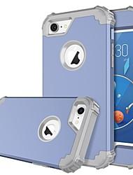 Недорогие -BENTOBEN Кейс для Назначение Apple iPhone 8 / iPhone 7 Защита от удара Чехол Однотонный Твердый Силикон / ПК для iPhone 8 / iPhone 7