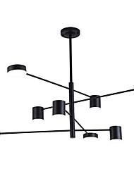 Недорогие -ZHISHU 8-Light геометрический Люстры и лампы Потолочный светильник Электропокрытие Окрашенные отделки Металл Новый дизайн 110-120Вольт / 220-240Вольт