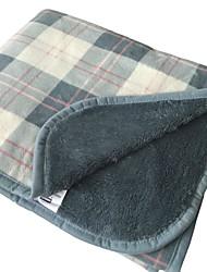 billige -Flanel, Reaktivt Print Plæd / Tern Bomuld / Polyester dyner