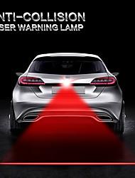 abordables -auto voiture anti collision laser lumière automobile lazer feu arrière feu de brouillard feu de queue avertissement d'alarme moto camion