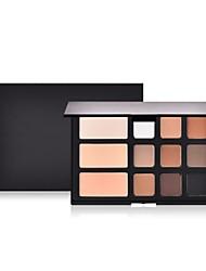 billiga Ansikte-12 färger Matt Concealer Foundation / Puder / Concealer Kina Fullständig Täckning Skola / Dagliga kläder / Datum Smink Kosmetisk