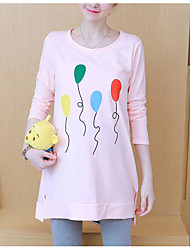 abordables -t-shirt pour femme en vrac - col rond géométrique