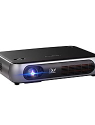 Недорогие -Factory OEM P1 DLP Бизнес-проектор / Проектор для домашних кинотеатров / Мини-проектор Светодиодная лампа Проектор 8000 lm Поддержка 1080P (1920x1080) 30-300 дюймовый Экран