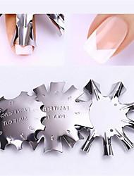 Недорогие -3шт Комплект сверла для ногтей Многофункциональный / Прочный маникюр Маникюр педикюр Нержавеющая сталь модный / Мода Повседневные