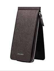 Недорогие -Жен. Мешки PU Мобильный телефон сумка Молнии Пурпурный / Кофейный / Коричневый