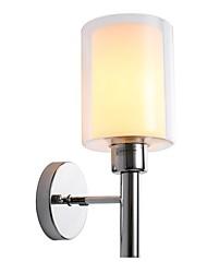 Недорогие -современная стеклянная стена браон гостиная столовая спальня металл мини-настенные светильники