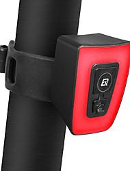 abordables -Lampe Arrière de Vélo LED Eclairage de Velo Cyclisme Imperméable, Résistant à la poussière, Dégradé de Couleur Batterie Li-ion rechargeable 160 lm Batterie rechargeable / Alimenté par Port USB Rouge