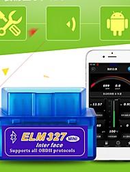 Недорогие -Супер мини-вяз 327 Bluetooth OBD2 v2.1 автомобиль диагностический интерфейс
