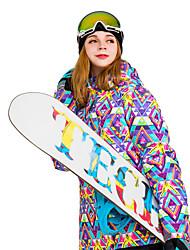 Недорогие -Жен. толстовка с капюшоном куртки / Худи и толстовка / Лыжная куртка Съемный капюшон, Лыжи, Зимние виды спорта Отдых и Туризм / Катание на лыжах / На открытом воздухе / Зима