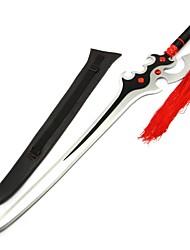 baratos -Espada Inspirado por Fantasias Fantasias Anime / Vídeo Games Acessórios para Cosplay Arma Madeira Unisexo Trajes da Noite das Bruxas