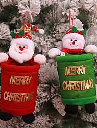 baratos -Acessórios do partido Favor Decoração Natal / Festa / Noite Natal / Ternos de Papai Noel / Boneco de neve Nãotecidos