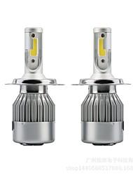 abordables -SENCART 2pcs H13 / 9004 / 9007 Moto / Automatique Ampoules électriques 36 W LED Intégrée / COB 3800 lm 2 LED / Halogène Feu Antibrouillard / Feux de Circulation Diurnes / Lampe Frontale Pour