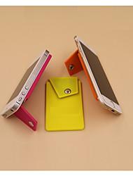 Недорогие -1pc силиконовая кредитная карта / id кошелек рукав клей телефон держатель универсальный держатель стойки гибкий держатель планшеты тарелки крепления