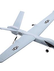 baratos -Avião com CR Z51 2ch 2.4G KM / H Kit não montado Electrico Escovado