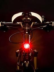 billiga Sport och friluftsliv-bakljus LED Cykellyktor Cykelsport Vattentät, Bärbar, Quick Release Uppladdningsbart Batteri 500 lm Uppladdningsbart Batteri Röd Cykling - ROCKBROS
