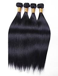 voordelige -4 bundels Birmees haar Recht 8A Echt haar Menselijk haar weeft Verlenging Bundle Hair 8-28 inch(es) Natuurlijke Kleur Menselijk haar weeft Dames uitbreiding Beste kwaliteit Extensions van echt haar