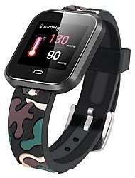 Недорогие -KUPENG CD16 Умный браслет Android iOS Bluetooth GPS Спорт Водонепроницаемый Пульсомер Измерение кровяного давления / Сенсорный экран / Израсходовано калорий / Длительное время ожидания / Педометр