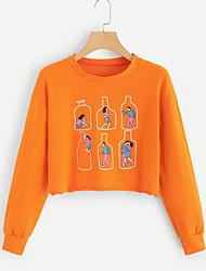 billige -Dame Gade Sweatshirt - Figurer